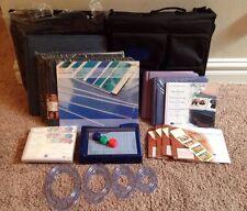 LARGE LOT CREATIVE MEMORIES ALBUMS, PAGES, BAG, TRIMMER, BLADES & MORE!!