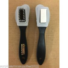 BRAND NEW BRITISH ARMY BOOT CLEANING BRUSH MILITARY ISSUE CLEANING TOOL