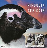 Togo 2014 MNH African Penguin 2v S/S II Birds Pingouin Africain