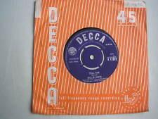 """BILLIE DAVIS lui dire UK 7"""" SINGLE 1963 ex signe"""