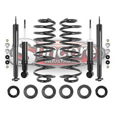 2003-2011 Lincoln Town Car Front & Rear Shocks with Rear Coil Spring Conversion