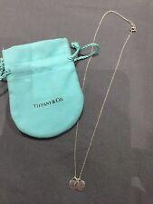 Tiffany & Co-Mini Collana con ciondolo a doppio cuore
