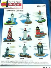 Amazing Designs Embroidery Software Lighthouse Collection 20 Lighthouses