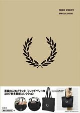 Fred Perry 2017 Autumn & Winter Japan Magazine Collection w Tote Bag NEW
