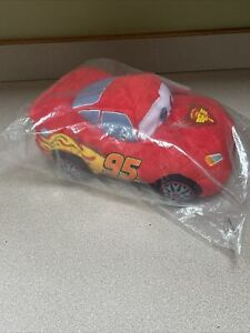 "Kohl's Cares CARS Disney Pixar 12"" Plush Stuffed Toy Lightning McQueen NEW!"