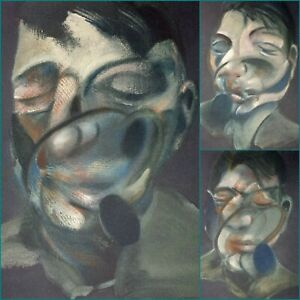Francis Bacon, Triptych-Three Studies for Self-Portrait 1974, Hand Signed Litho