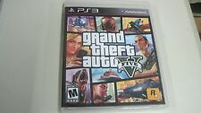GRAND THEFT AUTO V FIVE GTA PS3 PLAYSTATION 3 COMPLETE