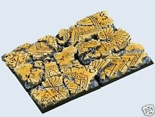 gestaltete Bases : Temple Bases  , Cavalry  25x50mm (4)