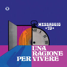 MESSAGGIO 73 Una ragione per vivere LP italian prog