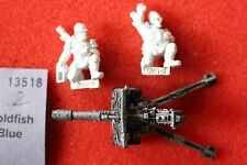 Games Workshop Warhammer 40k Praetorian Lascannon Heavy Weapon Metal Complete