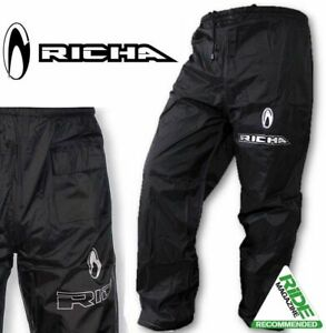Waterproof Over Trousers > Richa Rain Warrior Motorcycle Scooter 100% - Lined