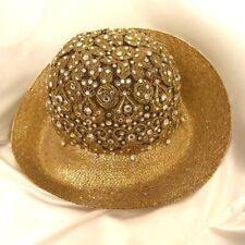 Vintage Frank Olive gold hat