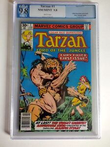 1977 Marvel Tarzan Lord of the Jungle #1 PGX NM/MINT 9.8