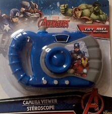 MARVEL AVENGERS CAMERA VIEWER STEROSCOPE 8 SCENES GIFT PARTY FAVOR NEW (BW10