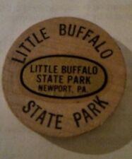 Wooden Token Wooden Nickel Little Buffalo State Park Newport Pa.