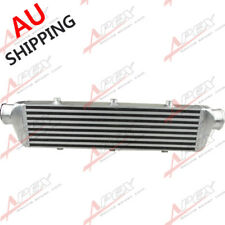 """AU SHIP UNIVERSAL 2.5"""" IN/OUTLET TURBO INTERCOOLER BAR&PLATE 27"""" x 5.5"""" x 2.5"""""""