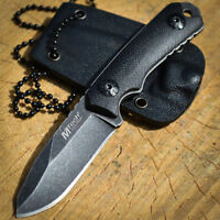 """4.75"""" M-TECH TACTICAL G10 Survival Army FIXED BLADE Mini Neck KNIFE w/ SHEATH"""
