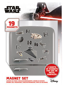 Star Wars Death Star Battle Fridge Magnet Set *OFFICIAL PRODUCT FAST UK DISPATCH