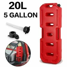 20L 5Gallon Jerry Can Emergency Backup Red Tank Fuel Gas Gasoline For Jeep Car