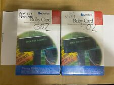 Lot of 2 New Verifone Ruby Card with HPV-20  (P040-07-502)