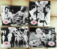 4 Aushangfotos Küss mich Dummkopf - Billy Wilder - Dean Martin - 1964 s/w