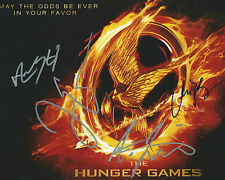 **GFA Catching Fire *HUNGER GAMES* Cast Signed 8x10 Photo MH2 COA**