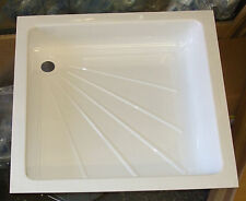Caravan/Motorhome/Boat Shower Tray - WHITE  585 x 585mm         310140