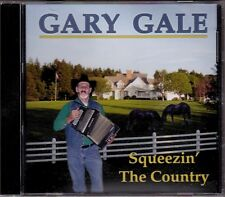 Gary Gale - Squeezin' The Country HTF Canadian Country Accordion Instrumental CD