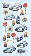 Schulanfang Sticker Polizei Polizeiauto Softysticker Einladung Geburtstag