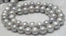 AA Wholesale Natural DIY Necklace Freshwater Pearl Loose Beads 9-10mm for silver