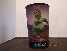 Guilford Grasshopper mascot Greensboro Grasshoppers Plastic cup baseball minor