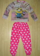 Girls Despicable Me 3 Unicorn Pyjamas And Robe Set  Age 5-6 Years BNWT