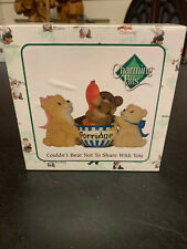 Fitz & Floyd, Charming Tails, Couldn't Bear Not To Share With You, 89/336, New