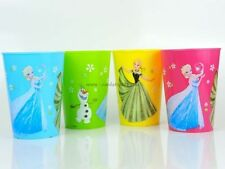 4x Disney Frozen SET Eiskönigin Kinder Becher Trinkbecher 300ml Anna Elsa Olaf