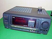 AIWA AV Amplifier Amp Stereo Receiver AV-X100K Home Cinema Hifi Phono Unit Black