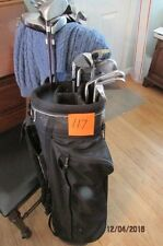 (117) MRH Tour Model V irons and woods hybrid putter bag $ 90.00 free shipping