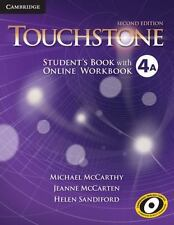 TOUCHSTONE LEVEL 4 STUDENT'S BOOK A WITH ONLINE WORKBOOK A 2ND EDITION by McCart