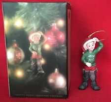Harley-Davidson Christmas Ornament Daddy's Boots 1994 in box