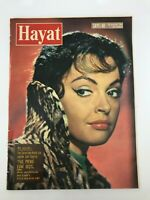 HAYAT #48 - Turkish Magazine - 1960s - NADJA TILLER COVER - J Mansfield