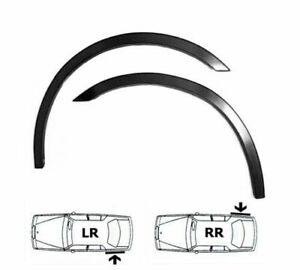 CHEVROLET SPARK wheel arch trim 2 pcs Matt Black Rear sport wings kit fit '05-09