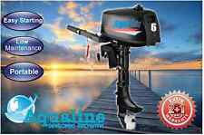 New AquaLine® 6hp Outboard Motor 2-Stroke Saltwater Series