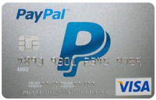 Verified PayPal account-virtual credit card for PayPal verification with 5 $us.