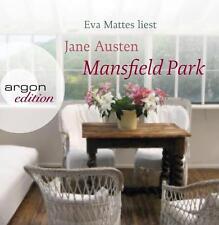+ Austen Jane : Mansfield Park 14er CD HörBuch NEU Ungekürzte Lesung Eva Mattes