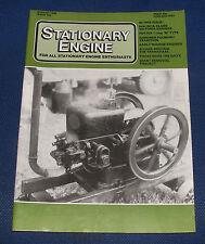 STATIONARY ENGINE MAGAZINE AUGUST 1986 NO.150 - EARLY MARINE ENGINES