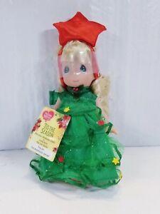 PRECIOUS MOMENTS Christmas Doll Tis The Season By Linda Rick