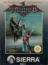Ultima Ii by Sierra Online for Apple Ii. Rare Small Box! Complete W/ Cloth Map!