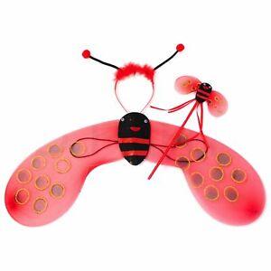 Lady Bug Wing Set