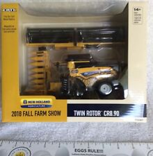 2018 Fall Farm Show New Holland Twin Rotor CR8.90 Combine In 1/64 Scale.