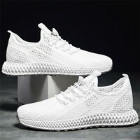 US Men Sport Athletic Sneakers Trail Running Casual Shoes Mesh Breathable