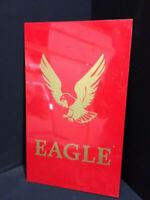 Águila Antiguo Pesado Signo De Escudo de Acero - Sin Esmalte 50 X 30CM